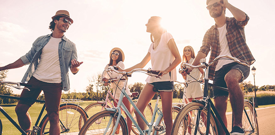 Hur hitta en cykel på cykelrea?
