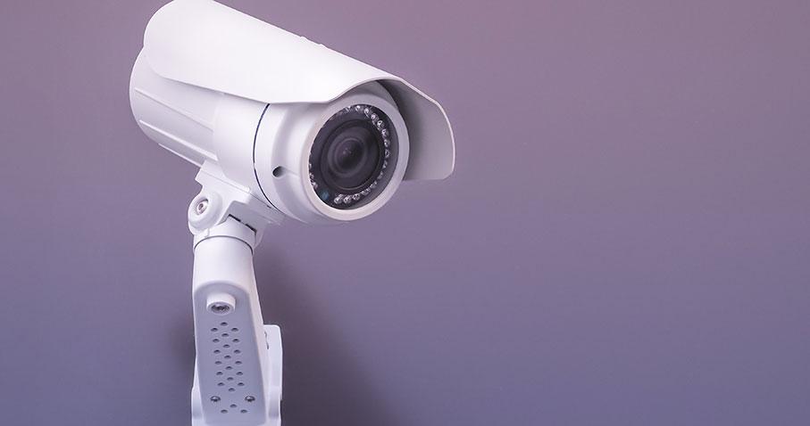 Kamerabevakning av privat område